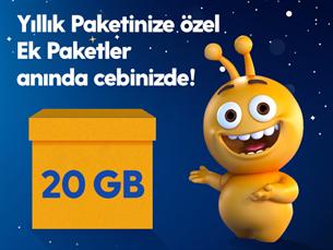 Satın Al Dev Ek 20GB