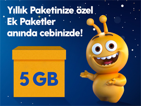 Dev Ek 5GB