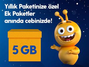 Satın Al Dev Ek 5GB