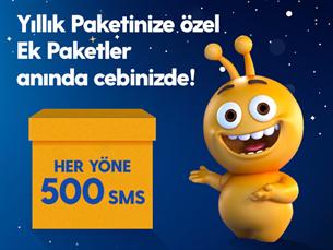 Satın Al Dev Ek 500 SMS