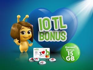 Satın Al Garanti Bonus 15 GB Paketi