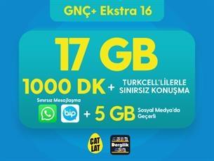 Satın Al GNÇ+ Ekstra 16 GB