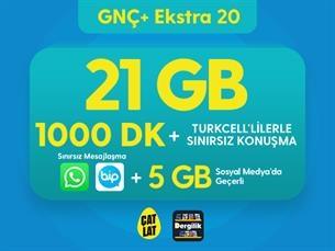 Satın Al GNÇ+ Ekstra 20 GB