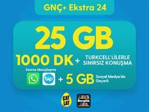Satın Al GNÇ+ Ekstra 24 GB