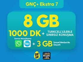 GNÇ+ Ekstra 7 GB