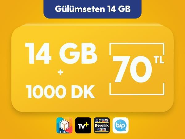 Gülümseten 14 GB Paketi
