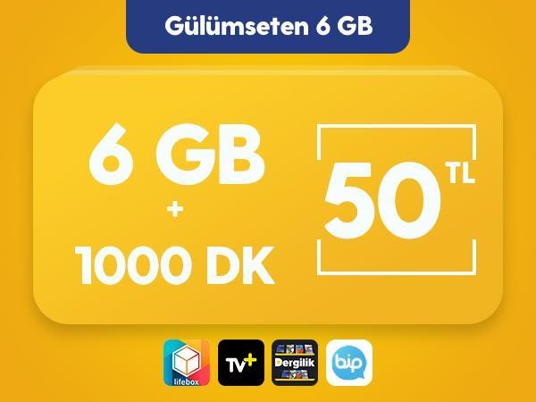 Gülümseten 6 GB Paketi