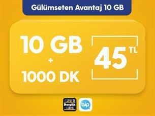 Satın Al Gülümseten Avantaj 10 GB Paketi