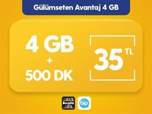 Satın Al Gülümseten Avantaj 4 GB Paketi