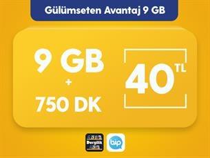 Satın Al Gülümseten Avantaj 9 GB Paketi