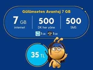 Satın Al Gülümseten Avantaj 7 GB Paketi