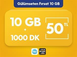 Satın Al Gülümseten Fırsat 10 GB Paketi