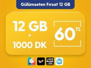 Satın Al Gülümseten Fırsat 12 GB Paketi