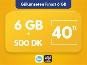 Gülümseten Fırsat 6 GB Paketi