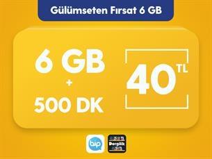Satın Al Gülümseten Fırsat 6 GB Paketi