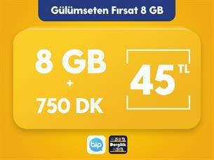 Satın Al Gülümseten Fırsat 8 GB Paketi