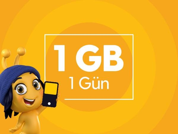 Günlük 1 GB İnternet Paketi