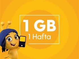Haftalık 1 GB İnternet Paketi