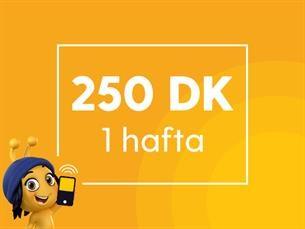 Satın Al Haftalık 250 Dakika Paketi