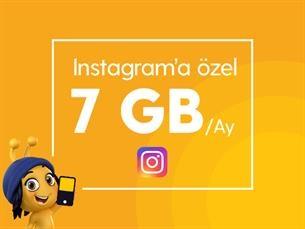 Satın Al Instagram 7 GB Paketi