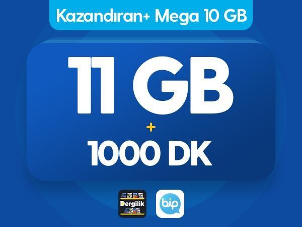 Kazandıran+ Mega 10GB