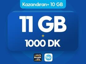 Kazandıran+ 10GB