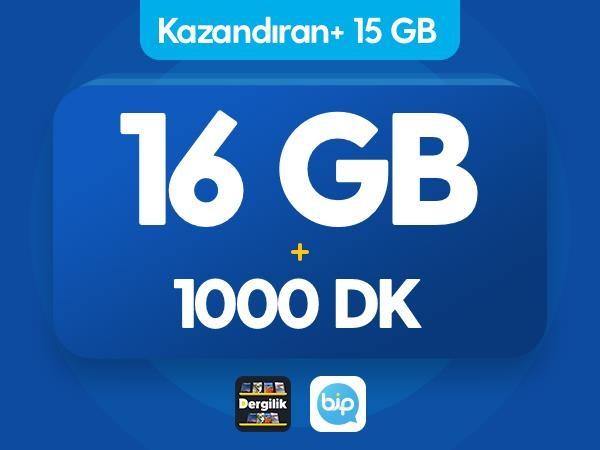 Kazandıran+ 15GB