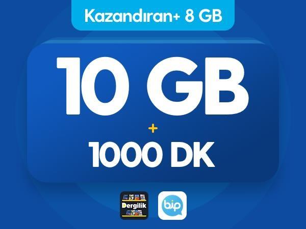 Kazandıran+ 8GB