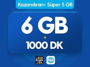 Satın Al Kazandıran+ Süper 5GB