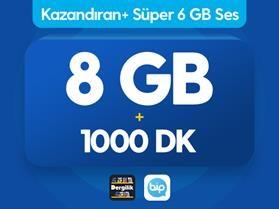Kazandıran+ Süper 6GB