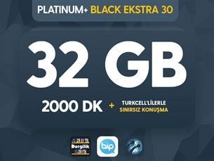 Satın Al Platinum+ Black Ekstra 30