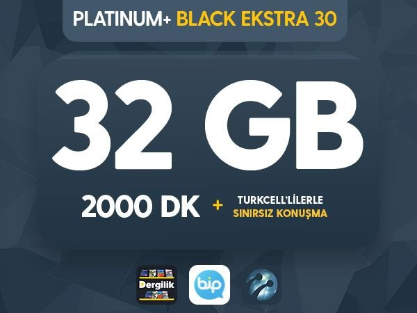 Platinum+ Black Ekstra 30