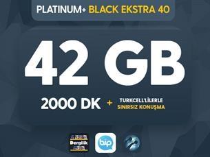 Satın Al Platinum+ Black Ekstra 40