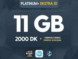 Satın Al Platinum+ Ekstra 10