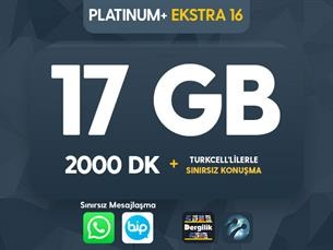Satın Al Platinum+ Ekstra 16