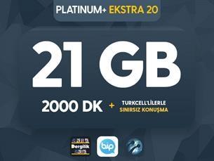 Satın Al Platinum+ Ekstra 20