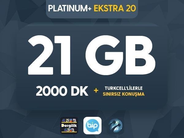 Platinum+ Ekstra 20