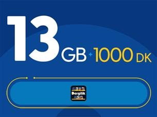 Satın Al Rahat Avantaj 13GB Paketi