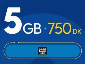 Rahat Avantaj 5GB Paketi - Tekrarsız