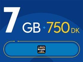Rahat Avantaj 7GB Paketi - Tekrarsız