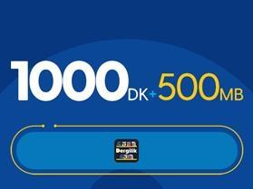 Rahat Gülümseten 1000DK Paketi