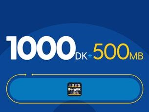 Satın Al Rahat Gülümseten 1000DK Paketi -Tekrarsız