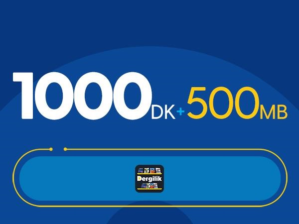 Rahat Gülümseten 1000DK Paketi -Tekrarsız