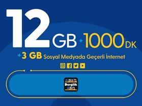 Rahat Gülümseten 15GB Paketi