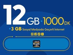 Satın Al Rahat Gülümseten 15GB Paketi - Tekrarsız
