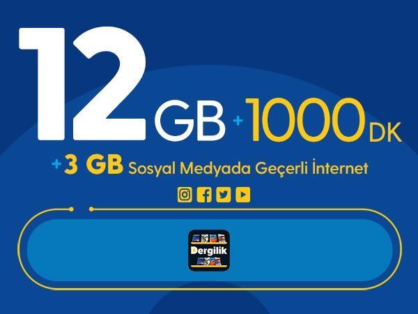 Rahat Gülümseten 15GB Paketi - Tekrarsız