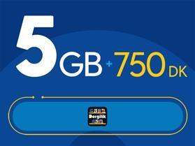 Rahat Gülümseten 5GB Paketi - Tekrarsız