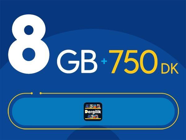 Rahat Gülümseten 8GB Paketi