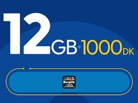 Rahat Kal 12GB Paketi - Tekrarsız