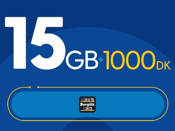 Rahat Kal 15GB Paketi – Tekrarsız